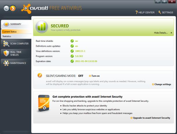 !avast Free Antivirus