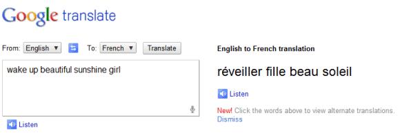 Google Prevodilac Vas Pažljivo Sluša Bagujecom